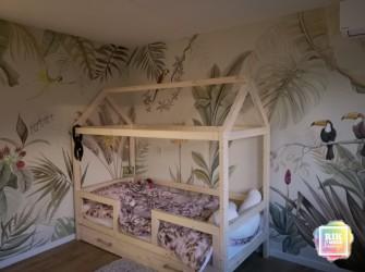 Botanisch-muurschildering-jungle