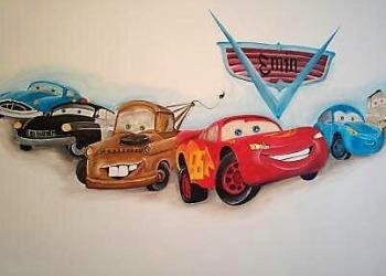 Kinderkamer-Cars