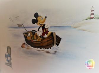 Muurschildering-Micky-Mouse