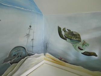 Muurschildering-Onderwaterwereld-2