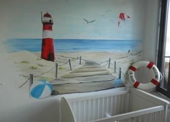 Muurschildering-Strand-Babykamer-2