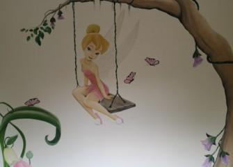 Muurschildering-Tinkerbell-1