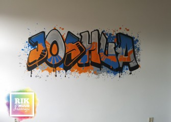Muurschildering-graffiti-naam