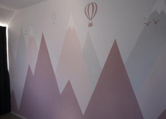 muurschildering-abstract-bergen