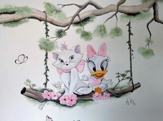muurschildering-kinderkamer