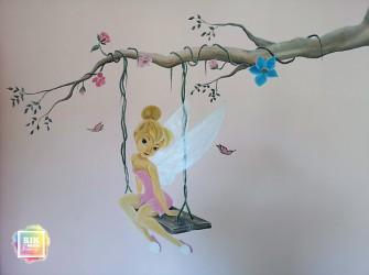 muurschildering-tinkerbell