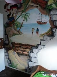 Muurschildering Den Haag