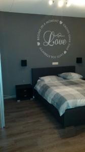 Muurschildering slaapkamer