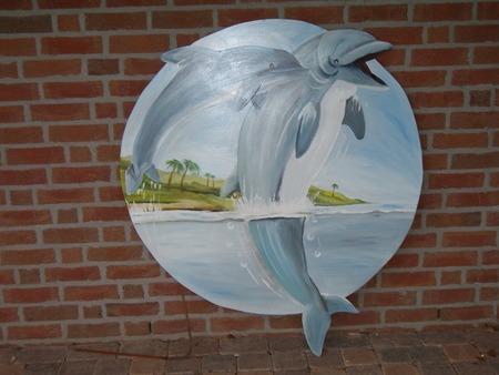paneel dolfijnen