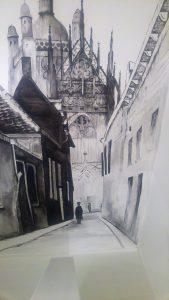 Muurschildering Sint-Jan